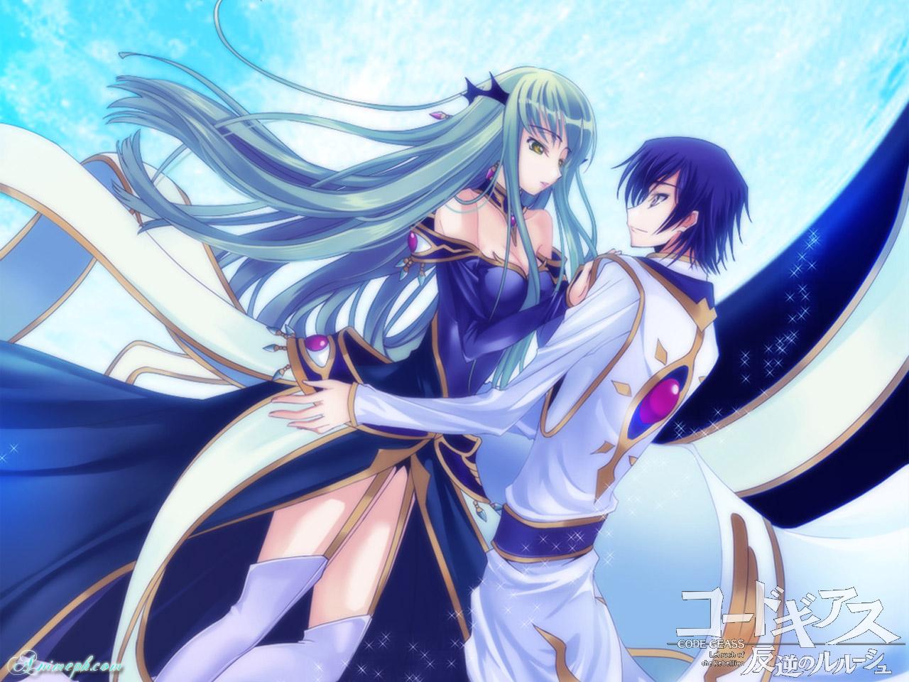 anime couple CC