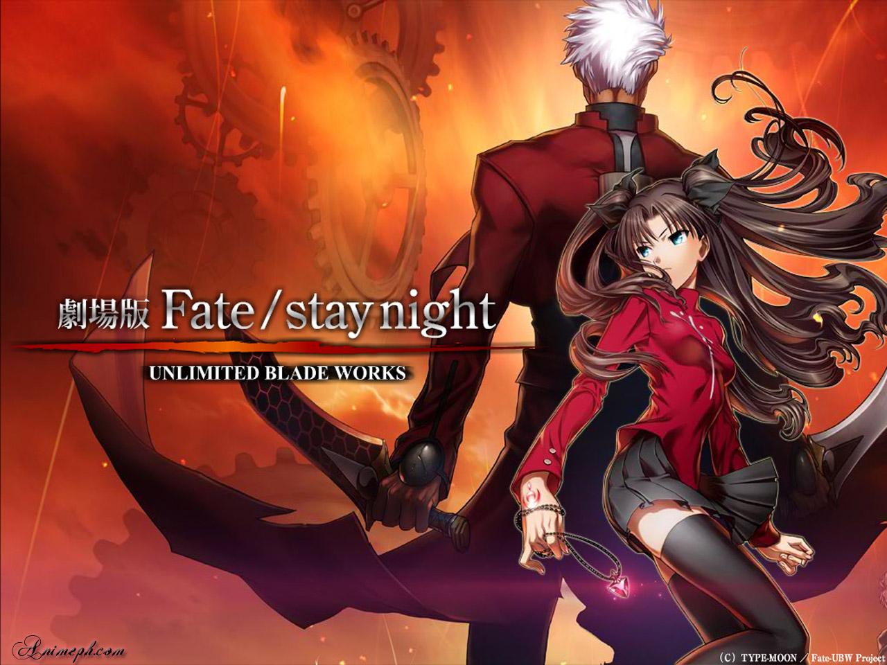 anime Fate stay night